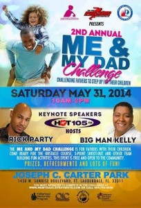2nd annual me & my dad challange